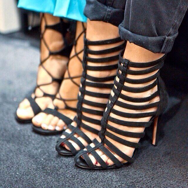 Gladiator Strappy Heels | Tsaa Heel