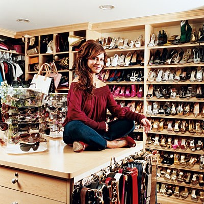 Upon Waking Into Paula Abduls Walk In Closet You Wouldnt Miss That Her Shoe Collection Is Over Populated By High Heels Even On Normal Days